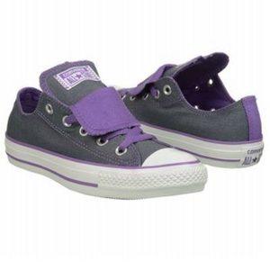Converse All Stars Purple Greg Low Top Sneakers